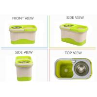 KXY-FT Double color spin mop 360,360 Spin Mop,Deluxe 360 Spin Mop,360 Spin Mop With Folding Bucket Factory Manufactures