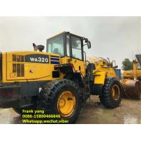 Energy Saving Used Wheel Loaders 100 % Original Imported Condition Manufactures