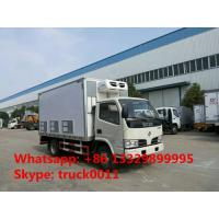 Dongfeng furuika 4*2 LHD/RHD day old chick truck for sale, dongfeng 95hp 20,000-25,000 baby chick transported truck Manufactures
