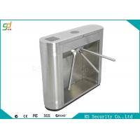 Quality IR Sensor Control Waist Height Turnstiles Fingerprint With 600mm Passage Width for sale