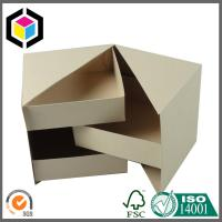 Plain Brown Color Cardboard Jewelry Secret Paper Box; Chipboard Gift Paper Box Manufactures