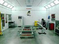 water based furniture spray and paint booth Manufactures
