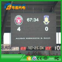 Full Color P6 Outdoor Stadium LED Screen Display for Video Displaying Match Goal Manufactures