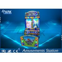 3D Scene Racing Game Machine With Double Cartoon Car L1550 * W1200 * H2100 MM Manufactures