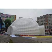 Giant Pvc Tarpaulin Inflatable Exhibition Tent For Relax / Celebration Party Manufactures