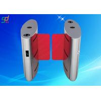 Quality Swing Barrier Turn Style Door , Automatic Turnstile Barrier Gate Control System for sale