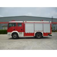 Front Overhang 1500mm Industrial Fire Truck , 4x2 Drive Type Fire Rescue Vehicles Manufactures