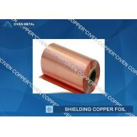 35um Single Shiny FCCL / PCB Electrolytic Copper Shielding Foil For Pcb Printed Circuit Board Manufactures