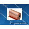 Extraordinary strength Shielding copper foil sheet roll , Conductive Copper Foil Manufactures