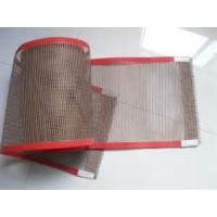 PTFE coated fiberglass mesh fabric/cloth ptfe conveyor beelt - used for cooking food Manufactures