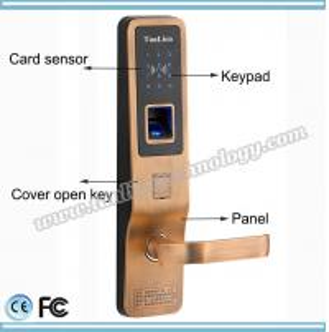 China Cheap outdoor biometric fingerprint reader password keypad scanner door lock TanLien Brand on sale