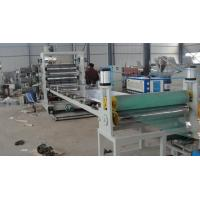 Plastic Sheet Extrusion Line , Twin Screw PVC Extrusion Machinery Manufactures