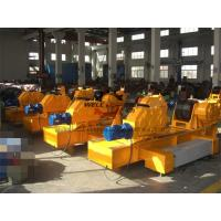100 Ton Loading Capaicty Movable Pipe Welding Rollers With Electric Cabinet Manufactures