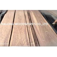 Natural Sliced Black Walnut Wood Veneer Sheet Crown Cut For Cabinetry Manufactures