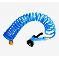 25FT Heavy duty TPU coil garden hose, 1/2 inch, Manufactures