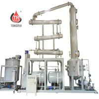 Easy Operation Waste Engine Oil Recycling Machine , Used Car Oil Recycling Machine Manufactures