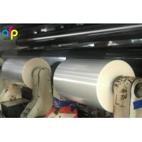 Excellent Printing Adaptability Biodegradable Packaging PLA Plastic Film For Label Shrink Sleeves Manufactures