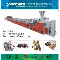 WPC Window/Decking/Ceiling/Baseboard/Concrete/Building Profile production line Manufactures