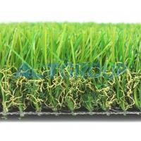 Luxury Soft  Commercial Artificial Grass  Comfortable Anti - Slip No Weather Limited Manufactures