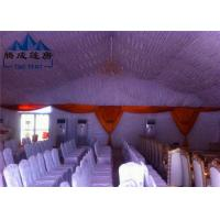 Transparent PVC Cover Church Revival Tents With Simple Cassette Flooring Manufactures