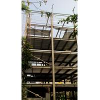 High Rise Steel Structures , Painting Galvanized Construction Steel Structure Manufactures