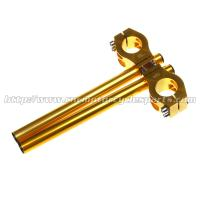 37mm Long Motorcycle Clip Ons Handlebars With Aluminum Alloy Material Manufactures