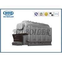 High Thermal Efficiency Industrial Biomass Fuel Boiler With Automatic Fuel Feeding Manufactures