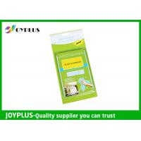 JOYPLUS Microfiber Cleaning Products Microfiber Glass And Mirror Cloth 200GSM Manufactures