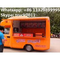 Quality diffierent colors mobile food truck for sale, mobile sales vending truck factory price, chengli factory food truck for sale