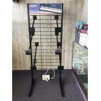 China Metal Flooring Display Stands Custom Keyboard Display Rack For Advertising on sale