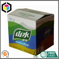 Full Color Offset Printing Corrugated Box; 24 x Beer Bottle Cardboard Packaging Box Manufactures