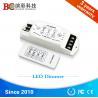 China DC 12V 24V 3 channels led light dimmer, strobe flash RF single color led dimmer Manufactures