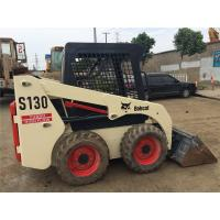 Used BOBCAT SD130 Skid Steer Loader 180h Working Time Original Paint Year 2014 Manufactures