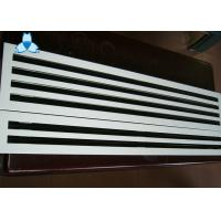 Quality Anodized / Powder Coated Single Deflection Grille For Airflow Distribution Uniformity for sale