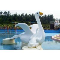 Customized Cygnet Slide Game For Kids, Fiberglass Small Water Pool Slides Manufactures