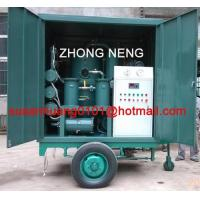Transformer oil purification enclosed in canopy and mounted on trailer Manufactures
