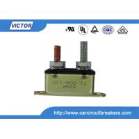 Quality 50A 24V / 12V Circuit Breaker / Stud Type Circuit Breakers For Battery Chargers for sale