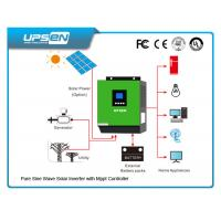 3000VA/2400W Off Grid DC to AC Solar Inverter with 60A MPPT solar charger Manufactures