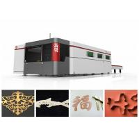 China High Speed Fiber Laser Cutting Equipment / Stainless Steel Sheet Cutting Machine on sale