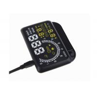 Brightness Adjustable Vehicle Heads Up Display W02 5.5 Inch OBD2 Interface Manufactures