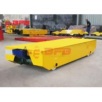 Heavy duty aluminum product transfer electric rail freight transport cart exported to Thailand Manufactures
