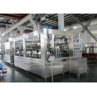 Carbonated Soft Drink Beverage Filling Machine Multi Head 12000BPH Manufactures