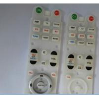 China Customized Conductive Rubber Keypads Fashion Skin - Touch For Remote Control on sale