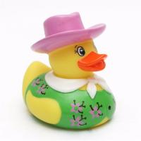 Quality Weighted Floating Fireman Character Rubber Ducks Cartoon Doctor Postman Design for sale
