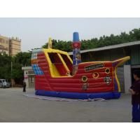 Large Inflatable Sports Games , Family Funny Playground Park Manufactures