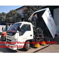 Quality Factory sale high quality good price forand 4*2 LHD street sweeper truck, HOT SALE! lowest price forland road sweeper for sale