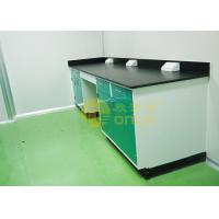 1000 * 750mm Chemical Resistant Table Tops With Chemical / Heat Resistant Manufactures