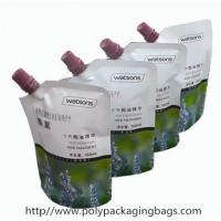 Colorful Printed Stand Up Pouch With Spout For Shampoo / Laundry Manufactures