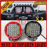 9 inch 96W CREE LED Driving Light 4X4 4wd offroad led truck work light 12v 24v