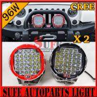 Buy cheap 9 inch 96W CREE LED Driving Light 4X4 4wd offroad led truck work light 12v 24v from wholesalers